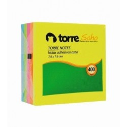 NOTA ADH TORRE 7,6x7,6 NOTE CUBO