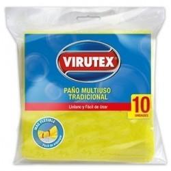 PAÑO MULTIUSO 10 UNID VIRUTEX