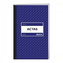 LIBRO ACTAS 50 HOJAS N.531-F50 AUCA