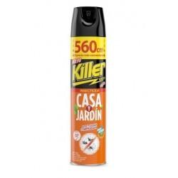 INSECTICIDA CASA Y JARDIN KILLER 560CC VIRGINIA