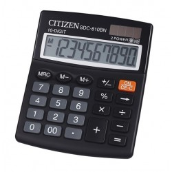 CALCULADORA ESCRITORIO 10DIG NEGRO CITIZEN
