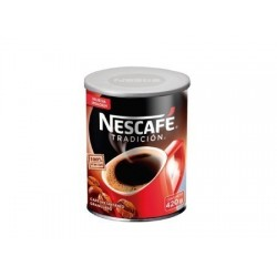 CAFÉ NESCAFE TRADICION 420GR GRANULADO TARRO